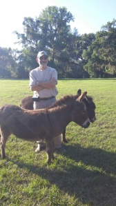 The donkey whisperer.