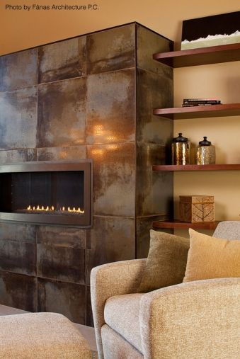 A most beautiful and amazing fireplace.